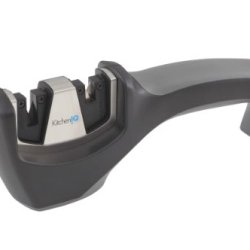 Kitcheniq 50032 Carbide Ceramic Pull-Thru Knife Sharpener