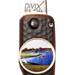 Dx Switchblade Divot Repair Tool 18Th Hole Black | Made In Usa
