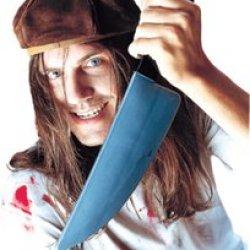 Pmg Halloween The Screamer Knife, Black/Silver