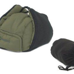 Snugpak Blue Insulated Hat-Earmuffs High Performance Fabrics Softie Insulation Deerstalker Style