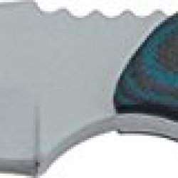 Tops Knives Blue Otter Fixed Blade Knife With G-10 Handles & Kydex Sheath