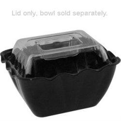 Clear Deli Crock Small Plastic Lid For Small Salad Crock.