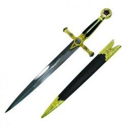Blue And Gold Mason Dagger