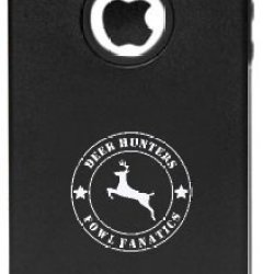 Iphone 5 5S Deer Hunter Hunting Great Outdoors Field And Stream Aluminum And Silicone Protective Case