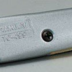 """Stanley Retractable Utility Knife Quick Change 6 """" Carded"""