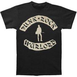 Joe Strummer Men'S Punk Rock Warlord Slim Fit T-Shirt Large Black