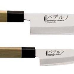 Paderno World Cuisine Deba Japanese Sushi Knife, 6-1/2-Inch
