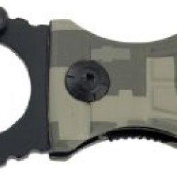 U.S. Army A-A100Dg Folding Knife, 3.5-Inch, Black