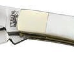 Frost Cutlery & Knives 18231Mpab Mini Trapper Pocket Knife With Mother Of Pearl & Abalone Inlay Handles