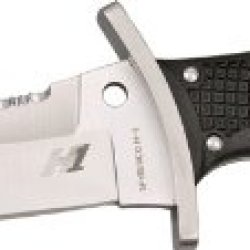 Spyderco Warrior Black Frn H-1 Plainedge And Spyderedge Knife