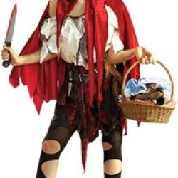 Little Dead Riding Hood Costume - Large - Dress Size 14-16