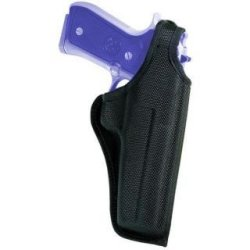 Bianchi Accumold Black Holster 7001 Thumbsnap - Size 4B S&W N Frame 4 (Left Hand)