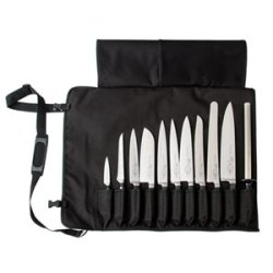 Black Dick Knife Roll Bag With Strap Holds 11 Knives