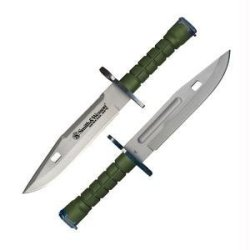 Smith & Wesson Sw2G Special Ops M-9 Bayonet Challenger Knife, Green