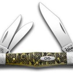 Case Xx Art Deco Antique Bone 1/500 Whittler Pocket Knife Knives