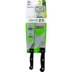 Chicago Cutlery Essentials 2-Piece Partoku Knife/Santoku Knife Set, Sheath Packaging