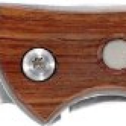 """Winchester Knives G0431 4"""" Closed Linerlock Pocket Clip Knife 200Th Commemorative Signature Series With Stainless Handles With Rosewood Onlays."""