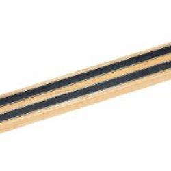 Crestware 24-Inch Wood Magnetic Knife Rack