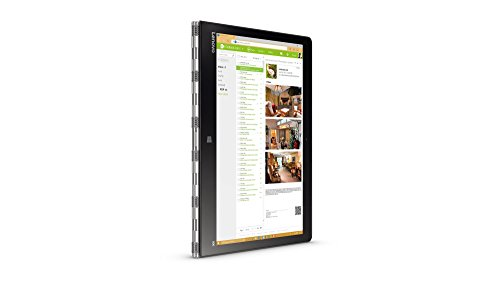 "Lenovo Yoga 900-13ISK 2.3GHz, Schermo 13.3"" 3200 x 1800Pixels, Processore i5-6200U, RAM 4GB, HDD da 256GB SSDTouch screen, Argento"