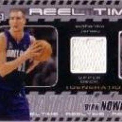 2002-03 Upper Deck Generations Reel Time Jersey #Dnj Dirk Nowitzki Jsy