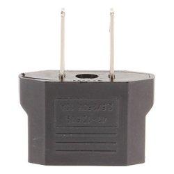 Us Plug To Eu And Us Plug Ac Power Adapter (110-240V)