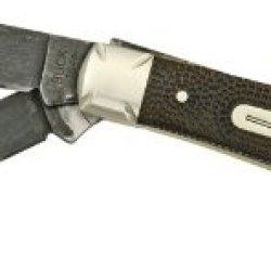 Brian Yellowhorse Buck Trapper Knife Chief Custom Chip Flint Finish