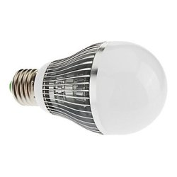 E27 7W 14X5730Smd 530Lm 6000K Cool White Light Led Candle Bulb (85-265V)