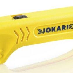 Jokari 30400 Uni-Plus Cable Strippers For Quick, Precise Cable Stripping, 13Cm L X 3.8Cm W X 2.5Cm H
