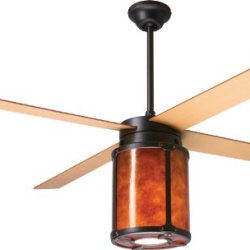"Period Arts Arc-Rb-Es, Arcadia Rubbed Bronze 52"" Outdoor Ceiling Fan W/ Light & Per-52-Mp"