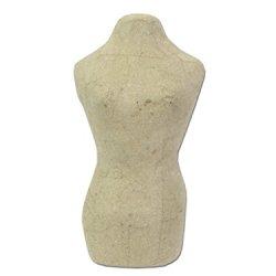 Paper Mache Mannequin 8 1/4 In. By Craft Pedlars
