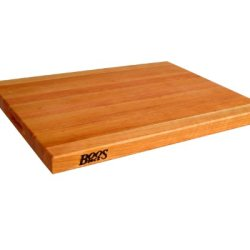 John Boos 24 By 18 By 1.5-Inch Reversible Cherry Cutting Board