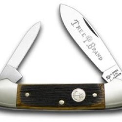 Boker Tree Brand Beer Barrel Wood Canoe Pocket Knife Knives