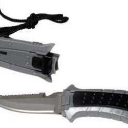 New Titanium Scuba Diving Bcd Knife - Pointed
