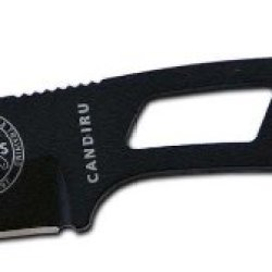 Esee Knives Black Candiru Fixed Blade Knife W/ Polymer Sheath