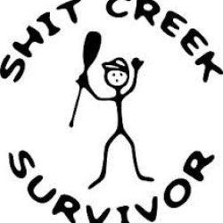 Shit Creek Survivor (This Is A Great Sticker!)