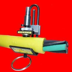 """Vt-270 Vee-Twin Precision Cable Stripper. For Use On Rubber Jacketed Cables From 5/16"""" To 2-1/8"""" O.D."""