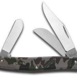 Case Xx Camo Zytel Synthetic Stockman Stainless Pocket Knife Knives