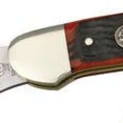 Hen & Rooster Knives 252Asc Canoe Pocket Knife With Autumn Second Cut Bone Handles