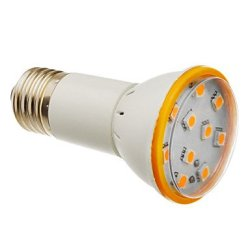 3 W E27 X5050Smd 10, 180-200 Lm 3000 K Of Warm White Led Bulb Sizes (200-240 - V)