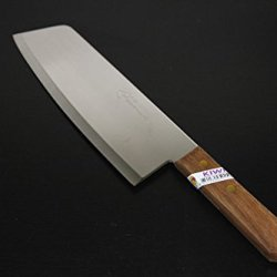 """8"""" Kiwi Brand Cook Knife (No. 21) - Great Cook Cleaver From Thailand (Free Knife 4 Pieces)."""