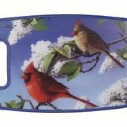 Cardinals Rectangle Ppe Plastic Cutting Board