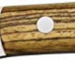 Bark River Mini-Fox River Fixed Blade Knife, Ss Blade, Bocote Wood Handle 06-035-Wb