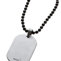 Boker Plus Titanium Dog Tag, Small, Silver