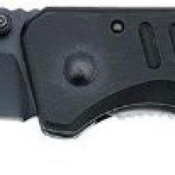 Linerlock Black Pocket Knife