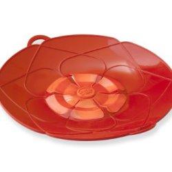 Kuhn Rikon 21031 Kochblume Spill Stopper, 13-Inch, Red