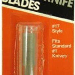 American Safety Razor Co 66-0517 #17 Hobby Blade 5Pk