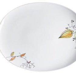 Kahla Five Senses Large Platter 13 Inches, Wonderland Color, 1 Piece
