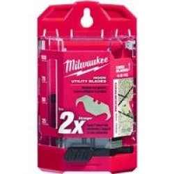 Milwaukee 48-22-1952 50 Pc Hook Utility Knife Blades W/ Dispenser