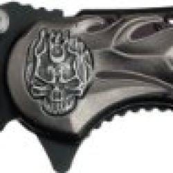 Tac Force Tf-736Bk Assisted Opening Knife 4.5-Inch Closed