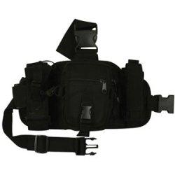 "Black Gp Drop Leg System (12"" X 7"")"